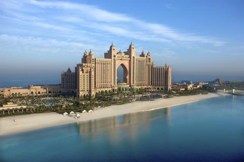 Zonvakantie Dubai Atlantis The Palm Vertrek13 Juni 2021